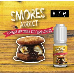 Churros and Vanilla Ice Cream Concentré 10ML - Smores Addict