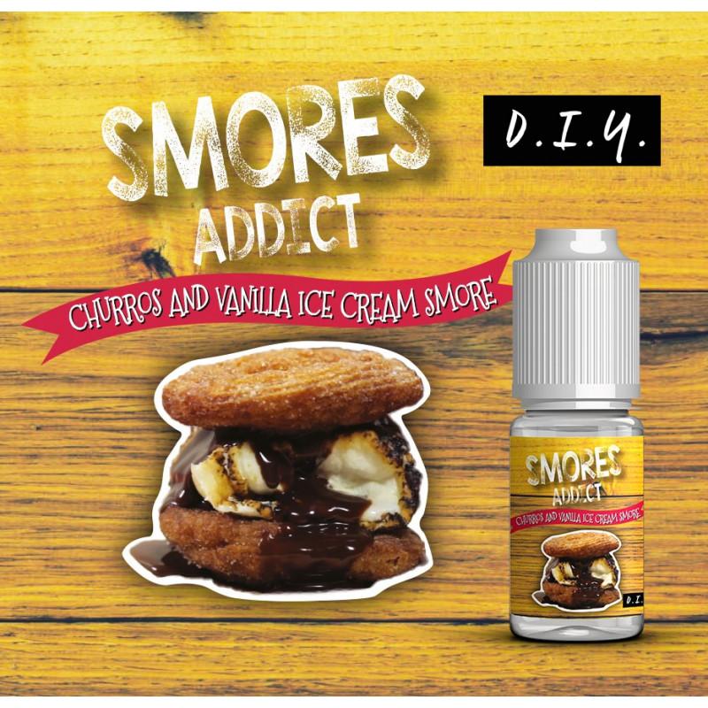 Churros and Vanilla Ice Cream Concentré 10ML - Smores Addict