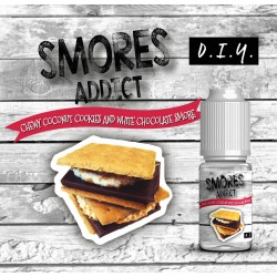 Chewy Coconut Cookies and White Chocolate Smore Concentré 10ML - Smores Addict