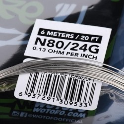 Ni80 Competition Wire 20ft - Wotofo
