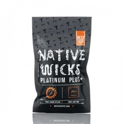 Platinium Plus + cotton - Native Wicks
