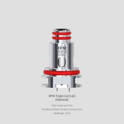 Résistances RPM40 Triple 0.6Ω par 5 - Smoktech