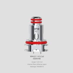 Résistances RPM40 SC 1.0Ω par 5 - Smoktech
