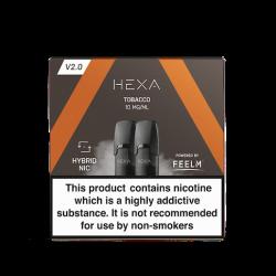 Pod Hexa Tobacco 1.7ML par 2 - Hexa
