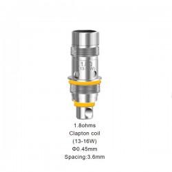 Résistances Triton Mini 1.8ohm par 5 - Aspire