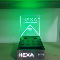 Présentoir Kit Pod Hexa 2.0 - Hexa