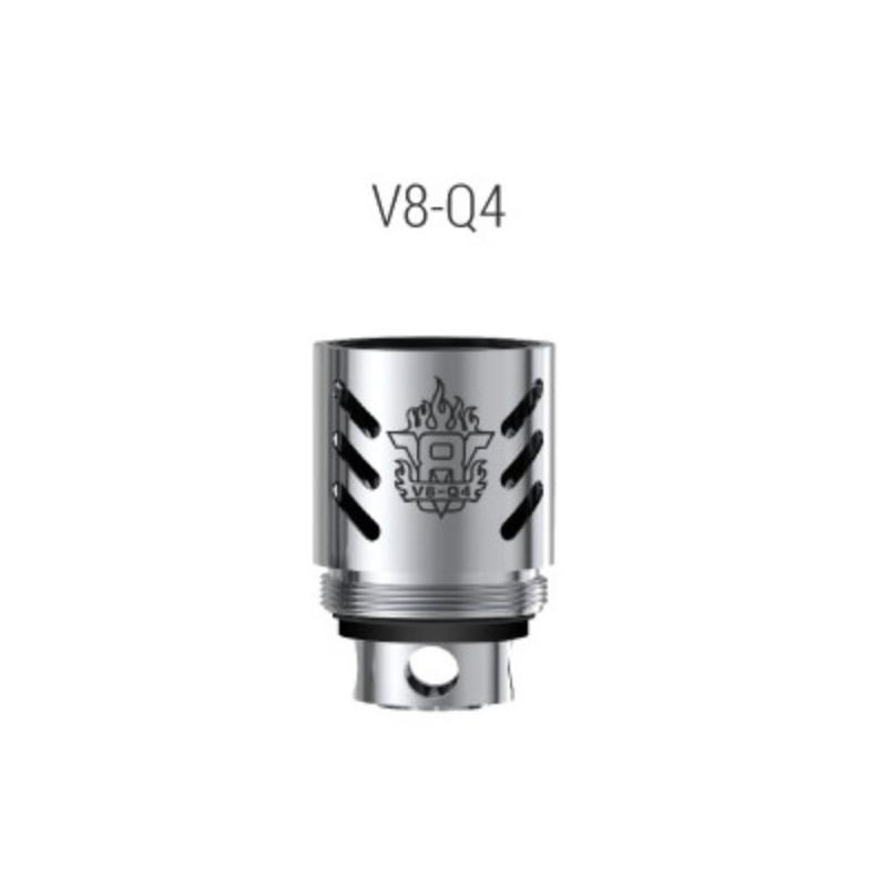 Résistances V8-Q4 pour TFV8 / Par 5 - Smoktech