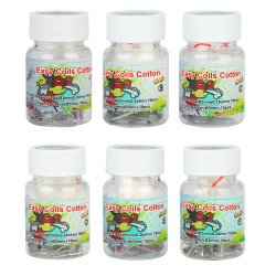 Boîte de 10+10 Easy Coils Cotton N90 - Lvs Vape