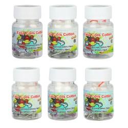Boîte de 10+10 Easy Coils Cotton N80 - Lvs Vape