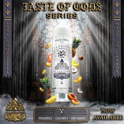 Taste of Gods - X 50ML - Illusions Vapor