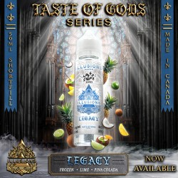 Taste of Gods - Legacy 50ML - Illusions Vapor