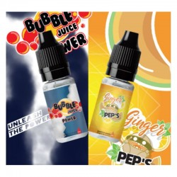 Sample Bubble Juice Power & Ginger Pep's - Aromazon