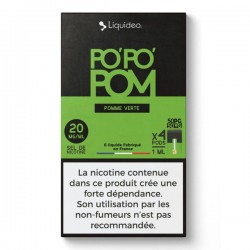 WPod PoPoPom 10ML par 4 - Liquideo