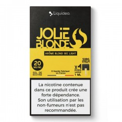WPod Jolie Blonde 10ML par 4 - Liquideo