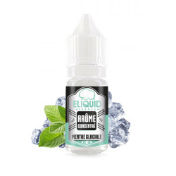 Menthe Glaciale Concentré 10ML - Eliquid France
