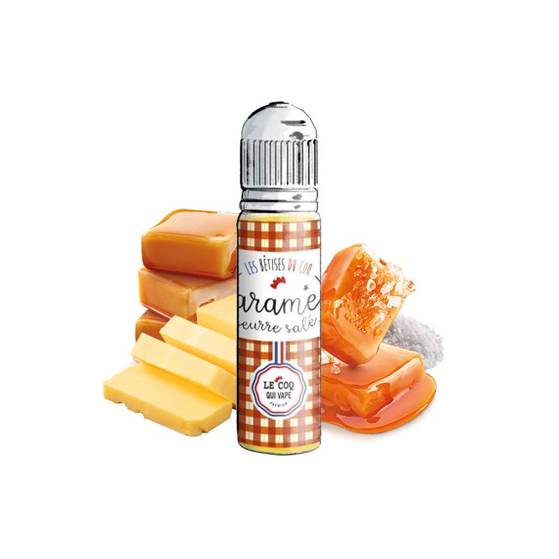 Caramel Beurre Salé 50ML - Les Bêtises du Coq