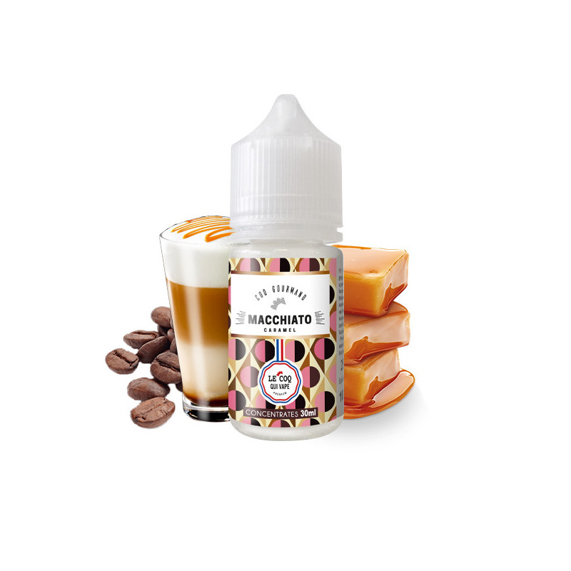 Macchiato Caramel Concentré 30ML - Le Coq Gourmand