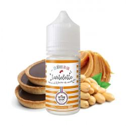 Tartelette Caramel Beurre de Cacahuète Concentré 30ML - Les Bêtises du Coq
