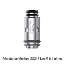 Résistances NexM MTL par 5 - Smoktech x OFRF