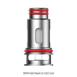 Résistances Mesh RPM160 par 3 - Smoktech