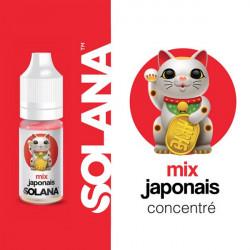 Mix Japonais concentré 10ml par 10 - Solana