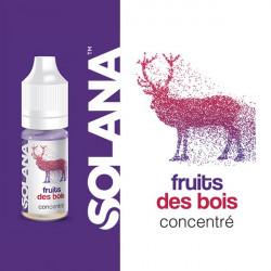 Fruits des bois concentré 10ml par 10 - Solana