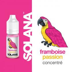 Framboise Passion concentré 10ml par 10 - Solana