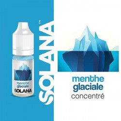 Menthe Glaciale concentré 10ml par 10 - Solana