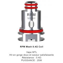 Résistances RPM SCAR P3 / P5 par 3 - Smoktech
