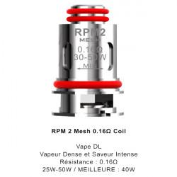 Résistances RPM2 SCAR P3 / P5 par 5 - Smoktech