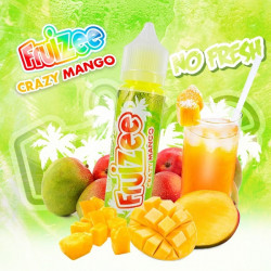Crazy Mango No Fresh 50ML - Fruizee