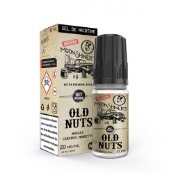 Old Nuts Moonshiners 10ml NicSalt - Le French liquide
