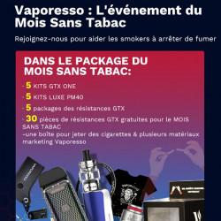 Pack du mois sans tabac - Vaporesso