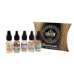 Sample - 10ML - Green Liquides