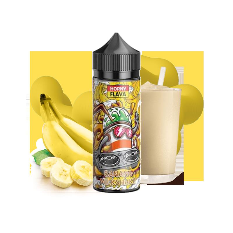 Banana milkshake 100ML - Horny Flava