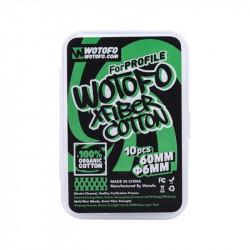Coton Xfiber pour Wire Coil par 10 - Wotofo