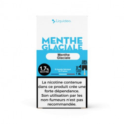 WPod Menthe glaciale 10ML par 4 - Liquideo
