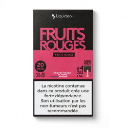 WPod Fruits rouges 10ML par 4 - Liquideo