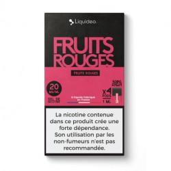 WPod Fruits rouges 10ML par 4 - Liquideo