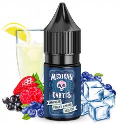 Limonade Fruits Rouges Bleuets 10ml Concentré - Mexican Cartel