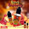 Peach Raspberry Concentré 10/30ML - 99 Flavor - Le Peach Raspberry, le mélange d'une framboise et d'une pêche délicatement sucrée. Fruitée de gorgée de soleil !