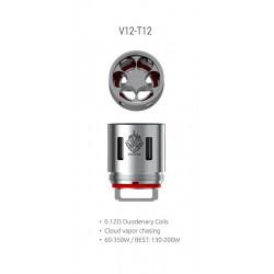 Résistances V12-T12 pour TFV12 Par 3 - Smoktech