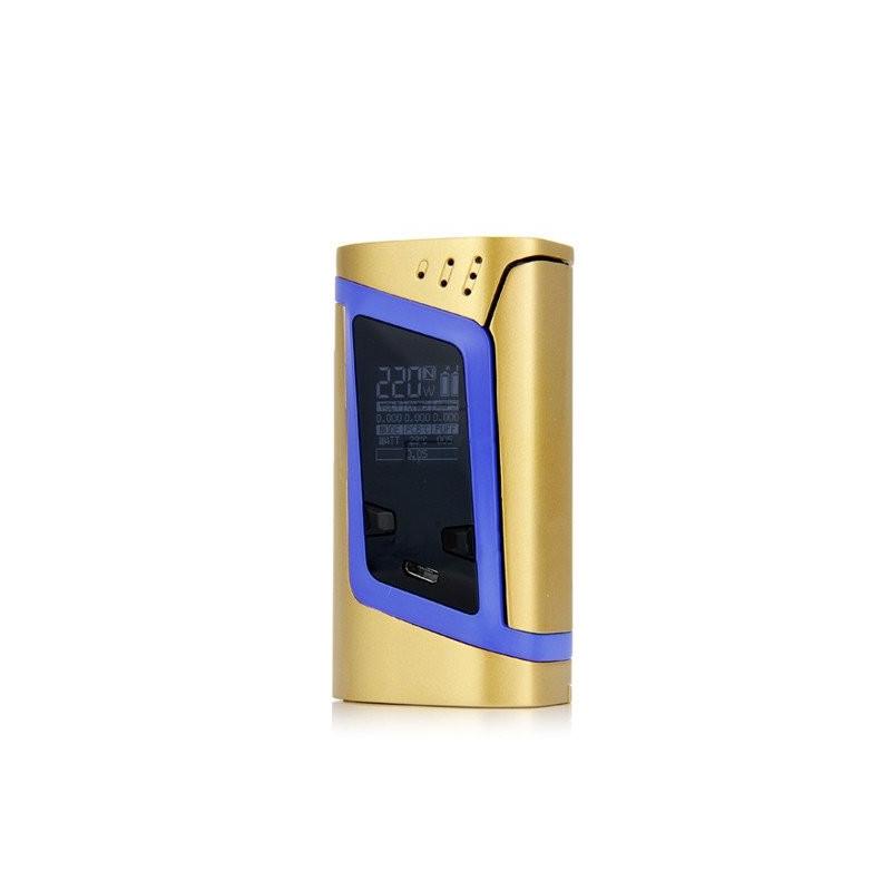 Box Alien 220w Gold/Blue Edition - Smoktech
