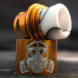 Armageddon RDA Gen 2 Orange Cotton Candy - Apocalypse Mtf