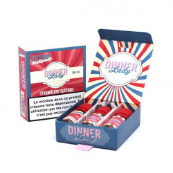 Strawberry Custard TPD 10ML Boite par 3 - Dinner Lady