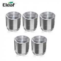 Résistances HW2 Dual-Cylinder - Ello Mini par 5 - Eleaf