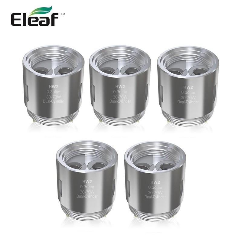 Résistances HW2 Dual-Cylinder pour Ello Mini par 5 - Eleaf