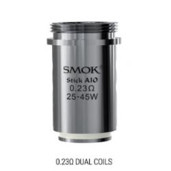 Résistances Dual Coils pour Stick Aio par 5 - Smoktech