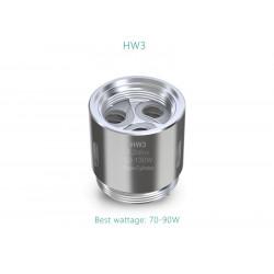 Résistances HW3 Triple-Cylinder pour Ello Mini par 5 - Eleaf