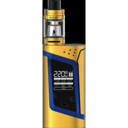 Kit Alien 220w Edition Gold / Blue avec TFV8 Baby - Smoktech